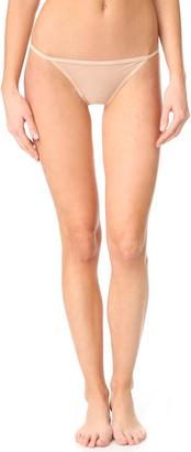 Calvin Klein Underwear Sheer Marq String Bikini $22 thestylecure.com