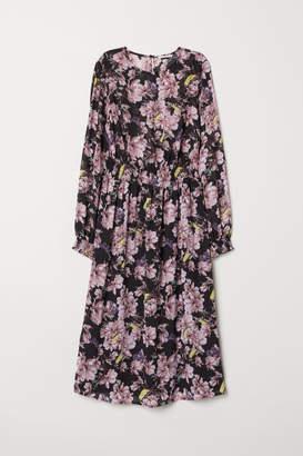 H&M Smocked Dress - Black