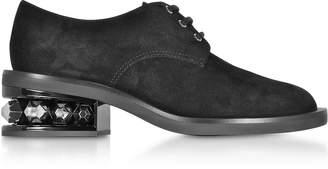 Nicholas Kirkwood Black 35mm Suzi Derby Shoes