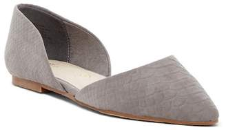 BC Footwear Blissful d'Orsay Pointed Toe Vegan Flat
