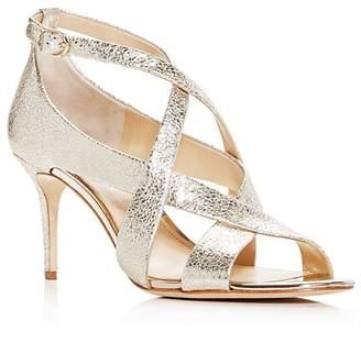 Vince Camuto Imagine Women's Paill Leather Crisscross High Heel Sandals