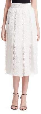 Maje Janila Lace Skirt