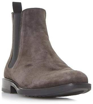 Dune Mens MARK Rubber Sole Chelsea Boot in Grey Size UK 6