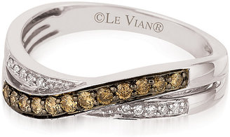 Le Vian 14ct Vanilla Gold Chocolate Diamond Ring