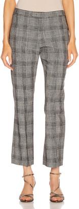 Isabel Marant Derys Trouser in Black & Ecru | FWRD