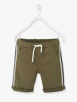 Vertbaudet Bermuda Shorts with Side Stripes, for Boys
