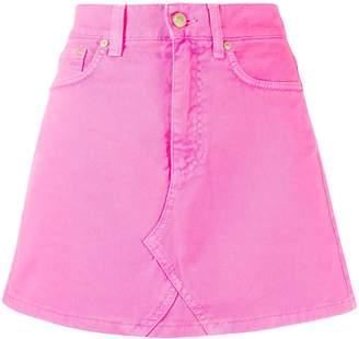 Chiara Ferragni denim mini skirt