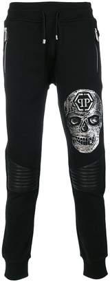 Philipp Plein Manmade Skull track pants