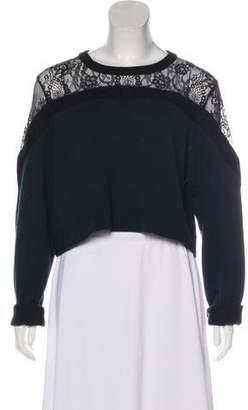 Tibi Merino Wool Knit Sweater