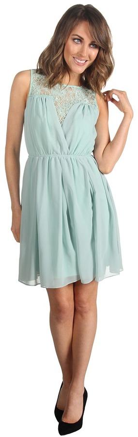 Gabriella Rocha Rue Chiffon Dress (Mint) - Apparel