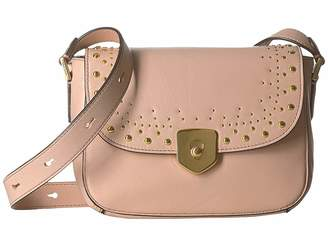 Cole Haan Marli Studding Mini Saddle Handbags