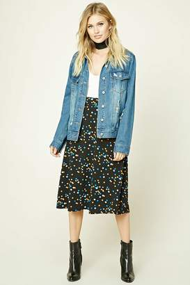 Forever 21 Contemporary Midi Skirt