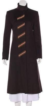 Chloé Wool-Blend Long Coat