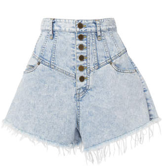 Marissa Webb Emmaline Bleached Shorts
