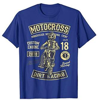 Vintage Style Motocross T-Shirt - Old school motorcycle