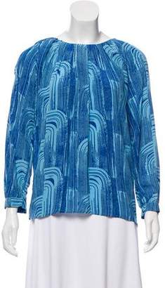 Kelly Wearstler Printed Silk Top