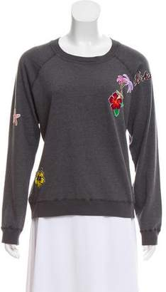 Monrow Long Sleeve Knit Sweatshirt w/ Tags