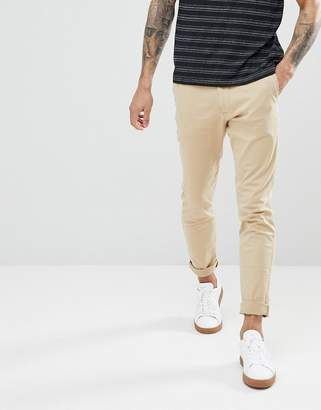 Hollister Superskinny Stretch Chinos in Beige