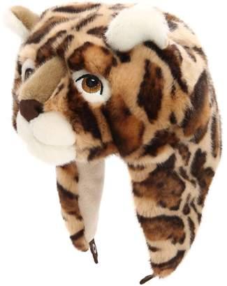 Dolce & Gabbana Leopard Shaped Plush & Fleece Hat