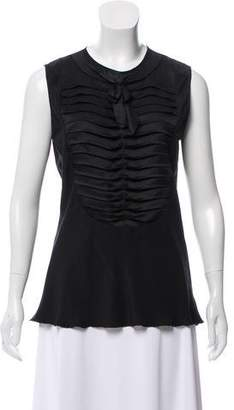 Chanel Sleeveless Crew Neck Top
