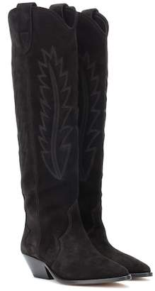 Isabel Marant Denzy suede cowboy boots