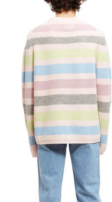 Opening Ceremony Striped Pullover