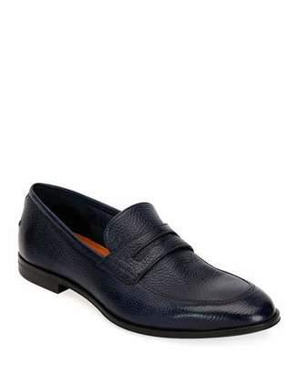 Bally Men's Webb Leather Penny Loafers, Dark Blue