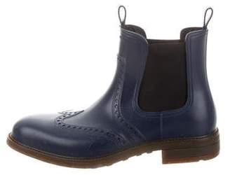 Salvatore Ferragamo Boston Chelsea Rain Boots
