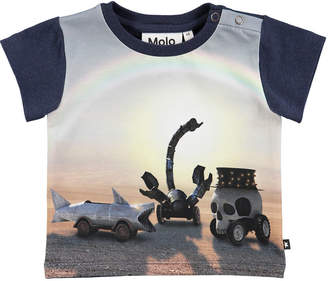 Molo Eddie Black Rock Desert Short-Sleeve T-Shirt, Size 6-24 Months
