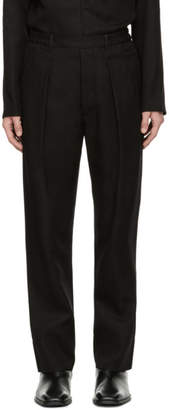 Lemaire Black Elasticated Trousers