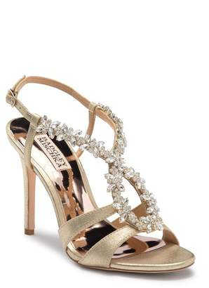 Badgley Mischka Heil Leather Sandal