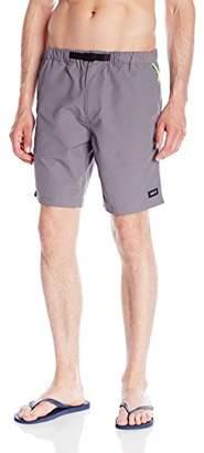 HUF Men's Boulder Hybrid Short