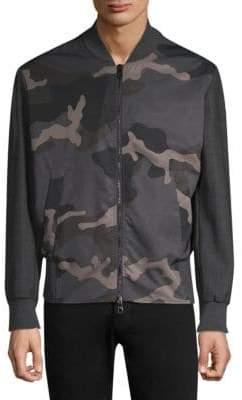 Erik Hart Camouflage Bomber Jacket