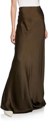 Rosetta Getty Bias-Cut Maxi Skirt