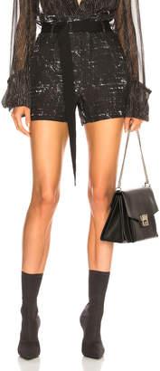 Ann Demeulemeester Paperbag Waist Shorts