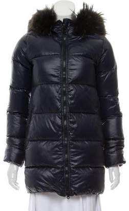 Duvetica Fur-Trimmed Down Jacket