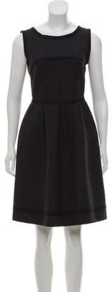 Fendi Sleeveless Textured Dress