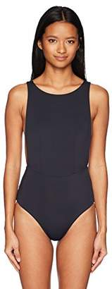 Roxy Women's Solid Softly Love One Piece Swimsuit