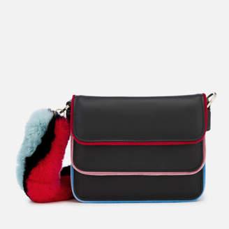 at Mybag.com · Les Petits Joueurs Women s Bibi Strap Fur Piping Bag - Multi 39992ae2fa