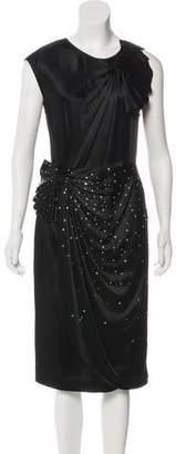 3.1 Phillip Lim Scoop Neck Silk Midi Dress