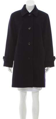 Herno Wool Knee-Length Coat