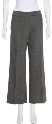 Robert Rodriguez Wool Mid-Rise Pants