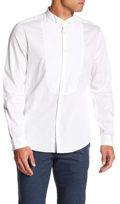 John Varvatos Collection Wingtip Collar Regular Fit Shirt