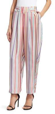 Emporio Armani Silk Candy Stripe Pants