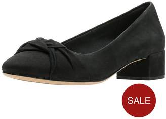 438bb80ba28 at Littlewoods · Clarks Orabella Lily Low Heel Shoes - Black