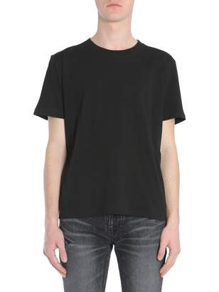 Saint Laurent T-shirt With Love 1974 Print