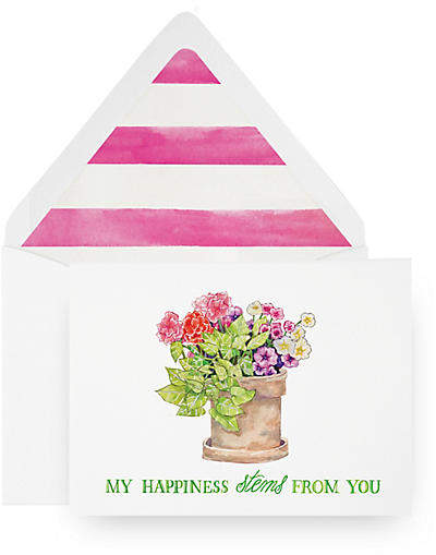 Set of 8 Stems From You Greeting Cards