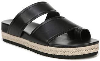 Vince Floyd Leather Flat Sandals