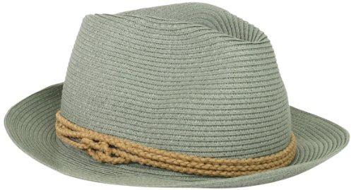 Hat Attack Women's Fine Braid Fedora Hat With Braided Cord Trim