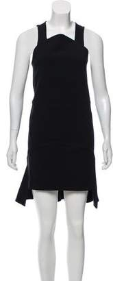Givenchy Sleeveless High-Low Dress